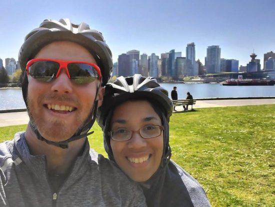Vancouver BMW e-bike Stanley Park