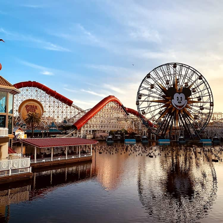 Pixar Pier Disneyland California Adventure