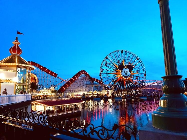 Disneyland California Adventure Pixar Pier How Scary is the Incredicoaster