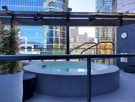 Fairmont Pacific Rim Willow Stream Spa Jacuzzi Tub