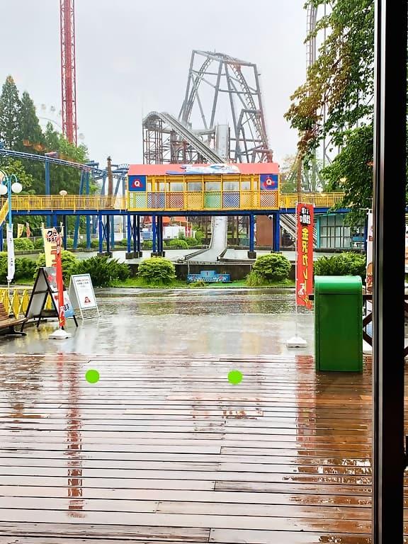 Fuji Q Rain in Tokyo, Japan