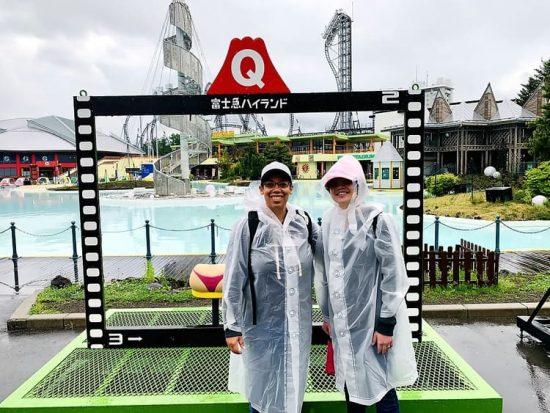 Fuji-Q Highland Rain