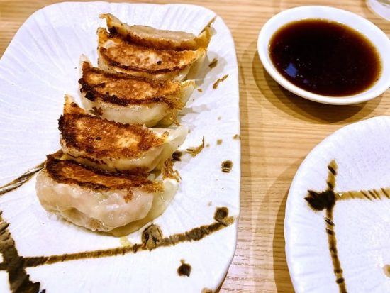 Osaka Gyoza affordable restaurants in Japan