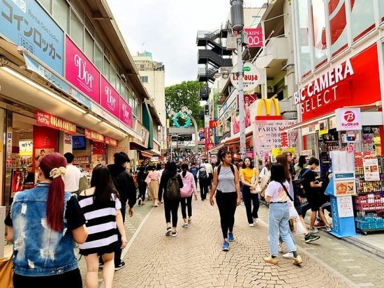 Tokyo Takeshita Street