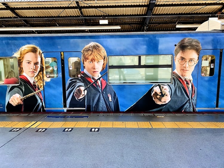Japan Trains Harry Potter