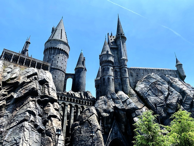 Hogwarts Universal Studios Hollywood Wizarding World of Harry Potter