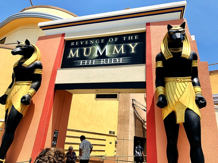 Universal Studios Hollywood The Mummy