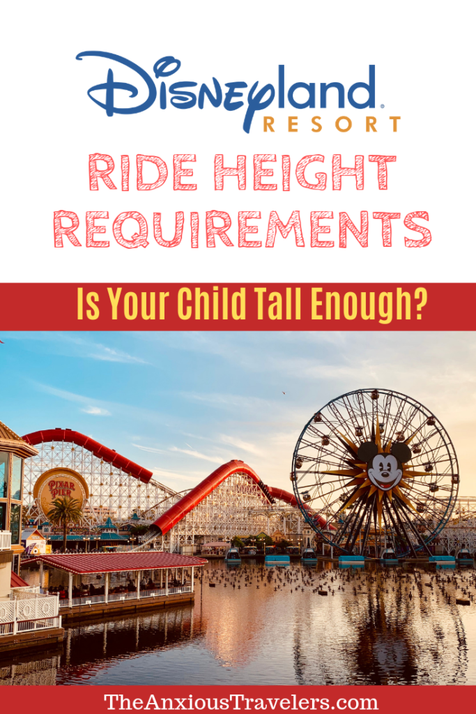 Ride Height Tall Enough Disneyland rides