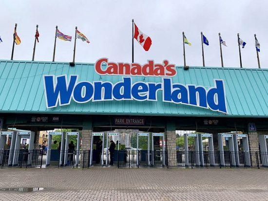 Canada's Wonderland Front Gate