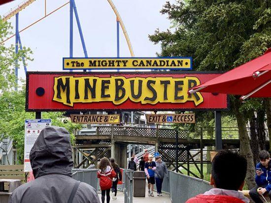 Canada's Wonderland Mine Buster