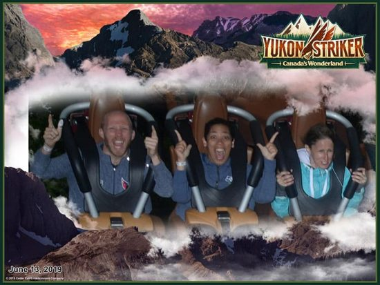 Canada's Wonderland How scary is Yukon Striker
