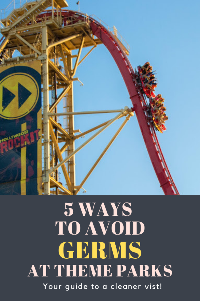 Pinterest 5 Ways to Avoid Germs at Theme Parks