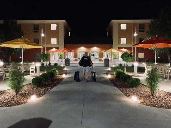 Cedar Point Express Hotel Outdoor Pool Area