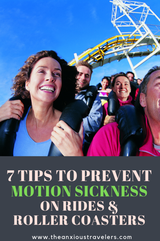 Prevent Motion Sickness on roller coasters