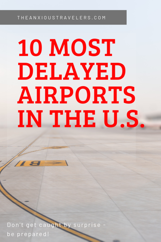 What are the 10 most delayed airports in America?