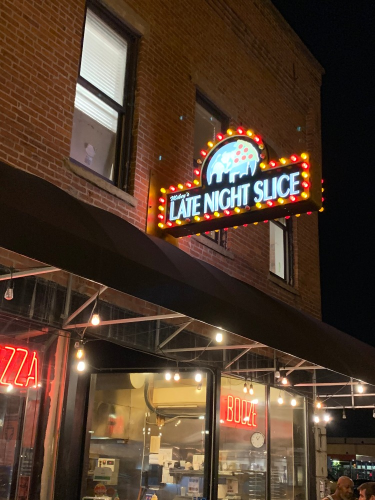Mikey's Late Night Slice exterior downtown Columbus