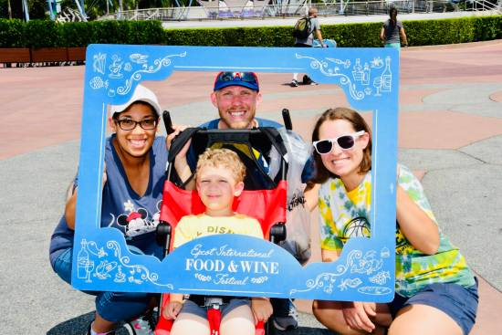 Epcot Food & Wine Festival Picture Frame