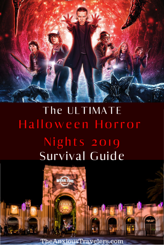 HHN Survival Guide 2019 Pinterest