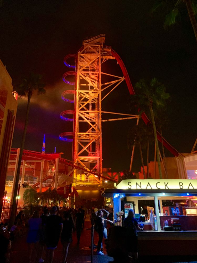 Hollywood Rip Ride Rockit Halloween Horror Nights 2019 Universal Orlando Resort