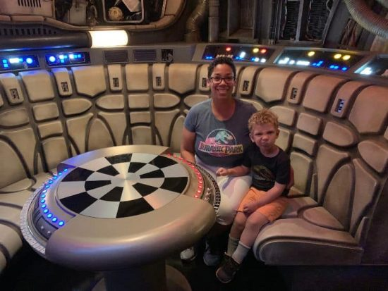 Smugglers Run Star Wars Galaxy's Edge Millennium Falcon Hollywood Studios Walt Disney World