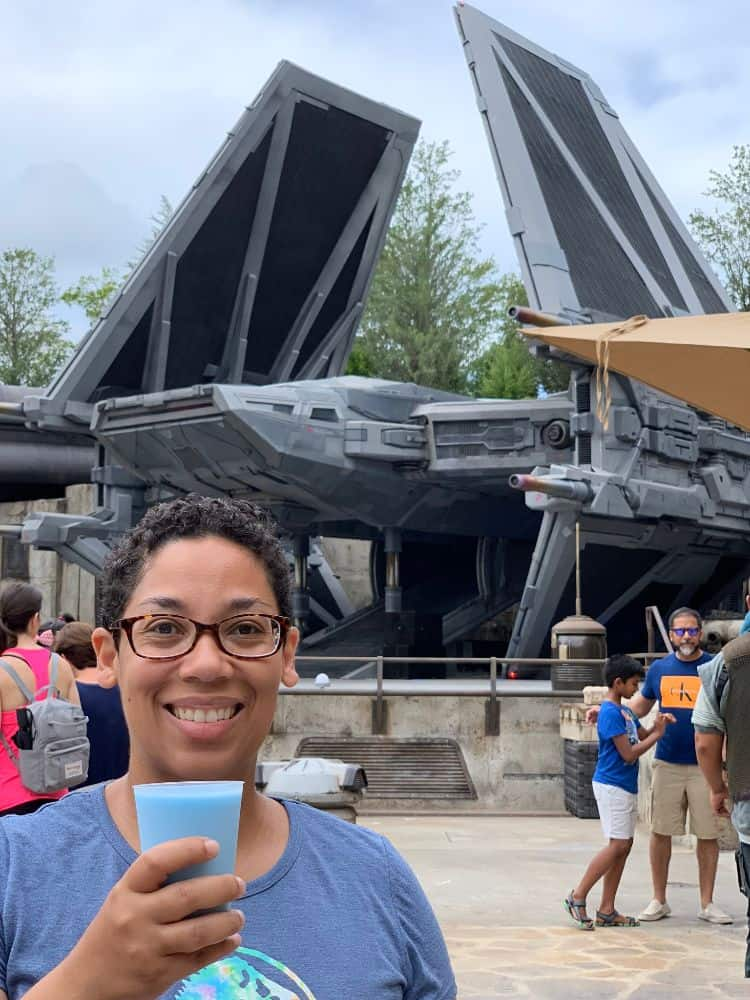 Star Wars Galaxy's Edge Blue Milk