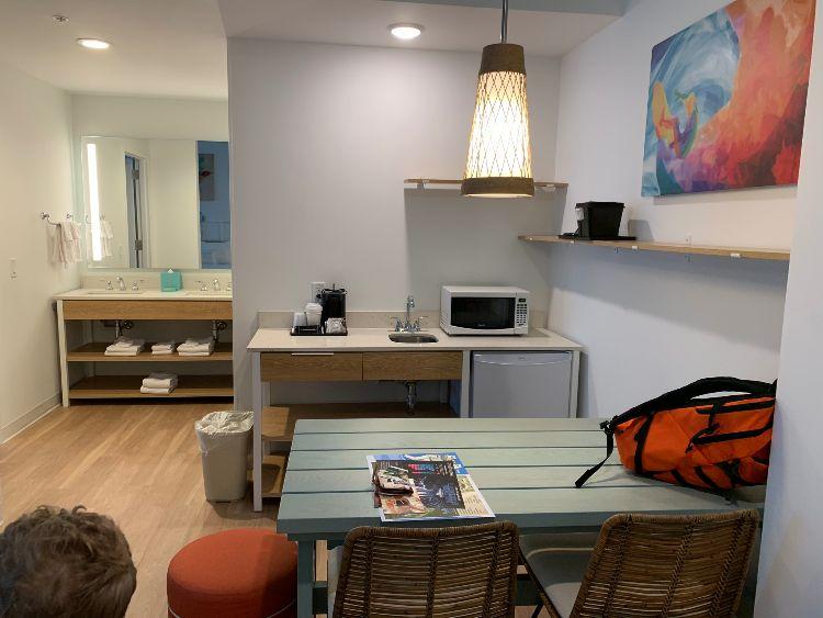 Kitchenette Surfside Inn and Suites