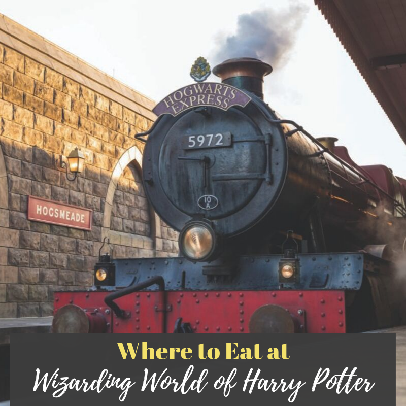 Where to Eat at Wizarding World of Harry Potter Pinterest