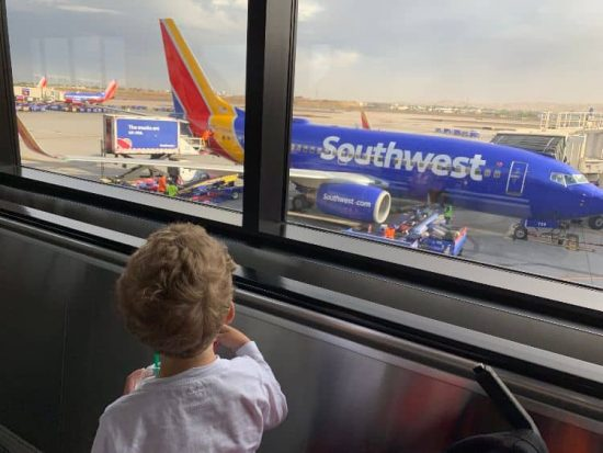 Child Airport Southwest Airlines Phoenix