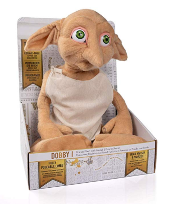 Harry Potter Dobby Feature Plush with Sounds