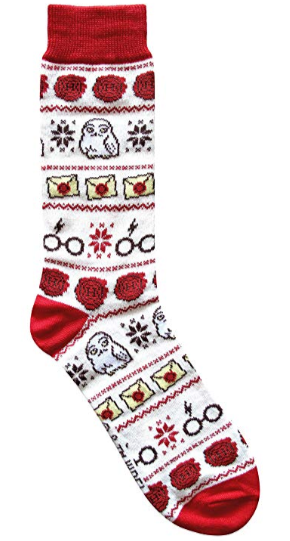 Harry Potter Hedwig Christmas Socks