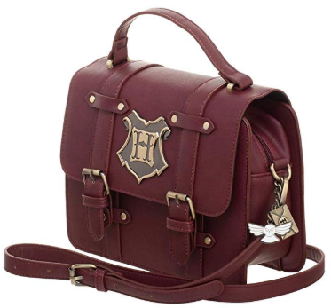 Harry Potter Hogwarts Satchel Handbag Purse