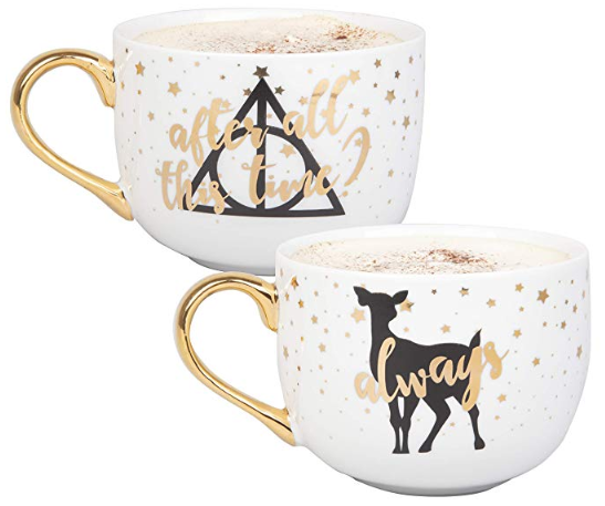 Harry Potter Latte Mug Set of 2 - After All This Time, Always