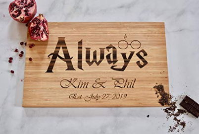 Harry Potter Personalized Cutting Board