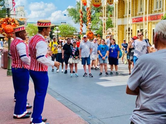 Magic Kingdom Walt Disney World Resort Dapper Dans