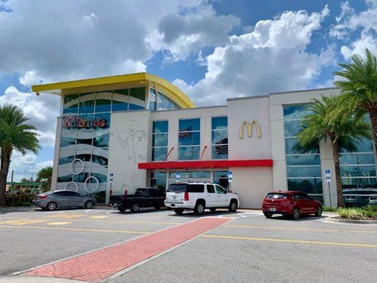 World's Largest Entertainment McDonald's Orlando Florida