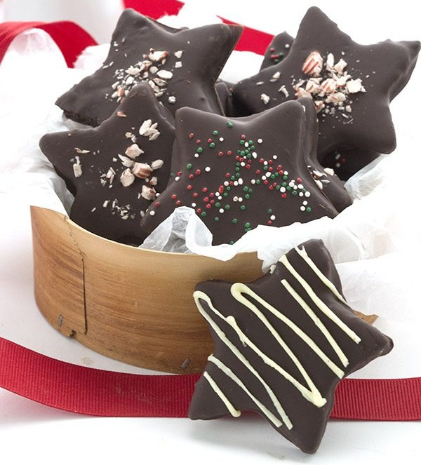 Chocolate-Peppermint-Stars