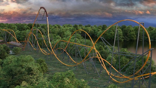 Jersey Devil - Six Flags Great Adventure New Jersey