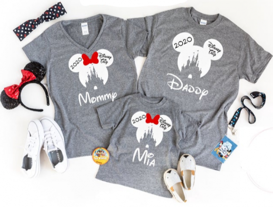 Matching Disney Family T-Shirts 2020