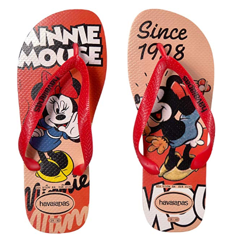Minnie Mouse Flip Flops