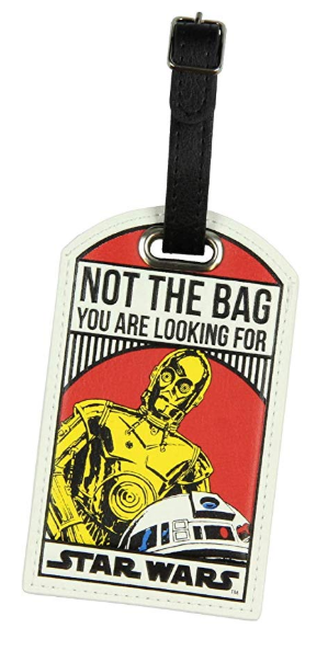 Star Wars Luggage Tag Disney Packing List