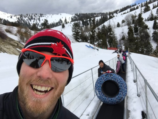 Bogus Basin Winter Tubing Mountain Coaster