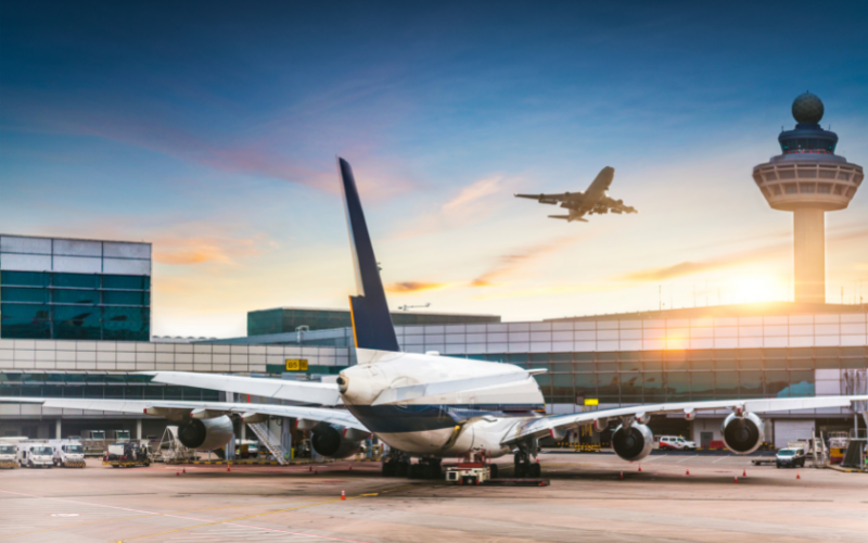 Airplane at the airport hanger best and worst airlines 2021