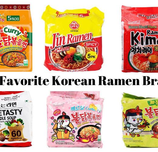 The best Korean ramen instant noodle brands