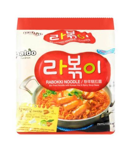 Paldo rabokki noodle instant Korean ramen