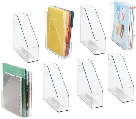 Clear magazine holder file folders for homeschool